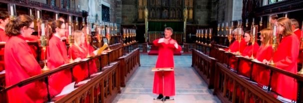 choir of st marys nottingham conducted by John Keys